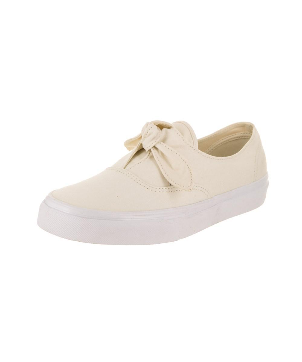 629558092b72fe Lyst - Vans Unisex Authentic Knotted (canvas) Skate Shoe