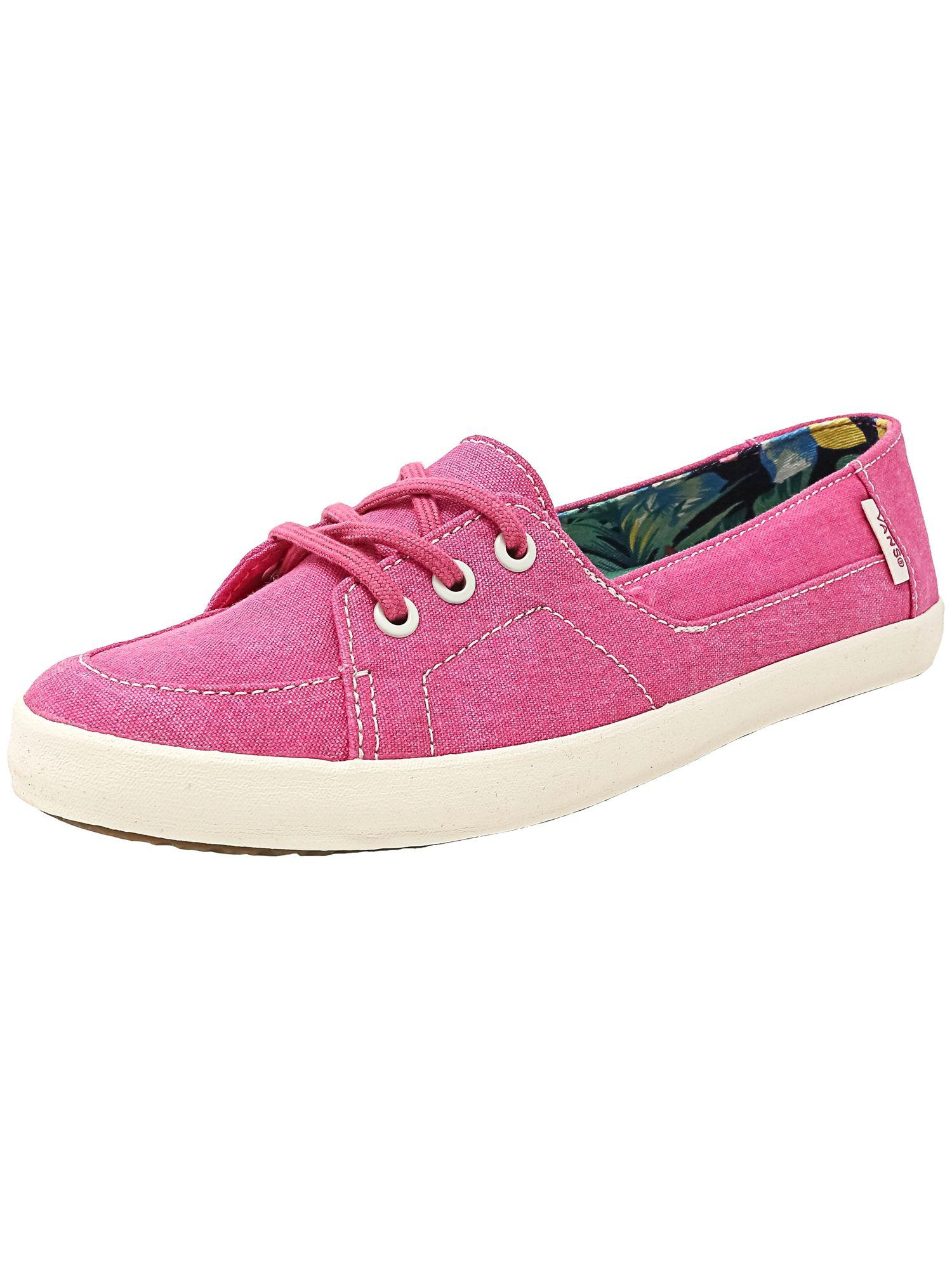 b86f0c9d75 Vans Women s Palisades Vulc Washed Canvas Fuchsia Purple Ankle-high ...