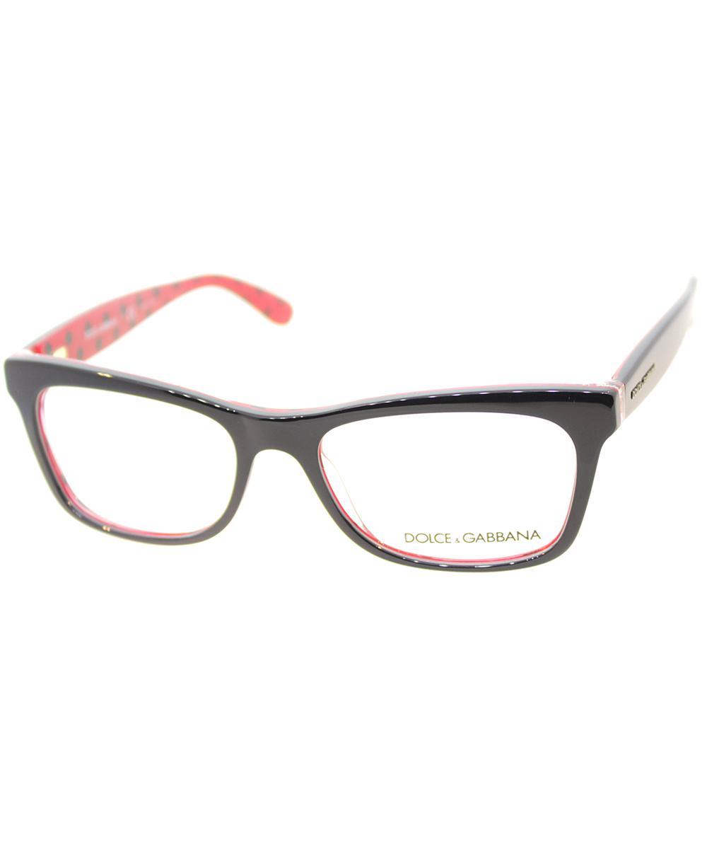 121abbbe575 Lyst - Dolce   Gabbana Cat-eye Plastic Eyeglasses in Black