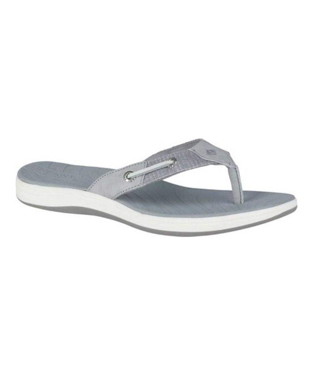 a3444a7e93192 Lyst - Sperry Top-Sider Women s Seabrook Surf Two-tone Thong Sandal ...