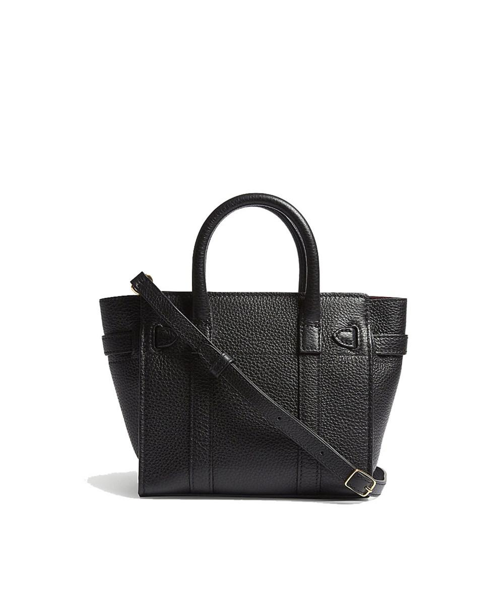 081f98877e Mulberry - Women s Black Leather Shoulder Bag - Lyst. View fullscreen