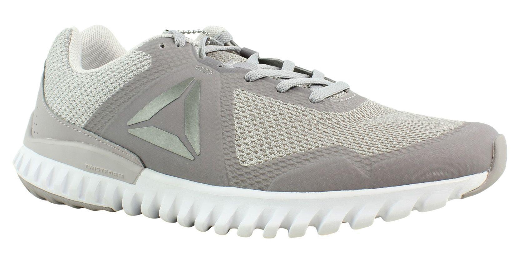 Lyst - Reebok Womens Twistform Blaze 3.0 Mtm Gray Running Shoes in Gray 3eb953da0