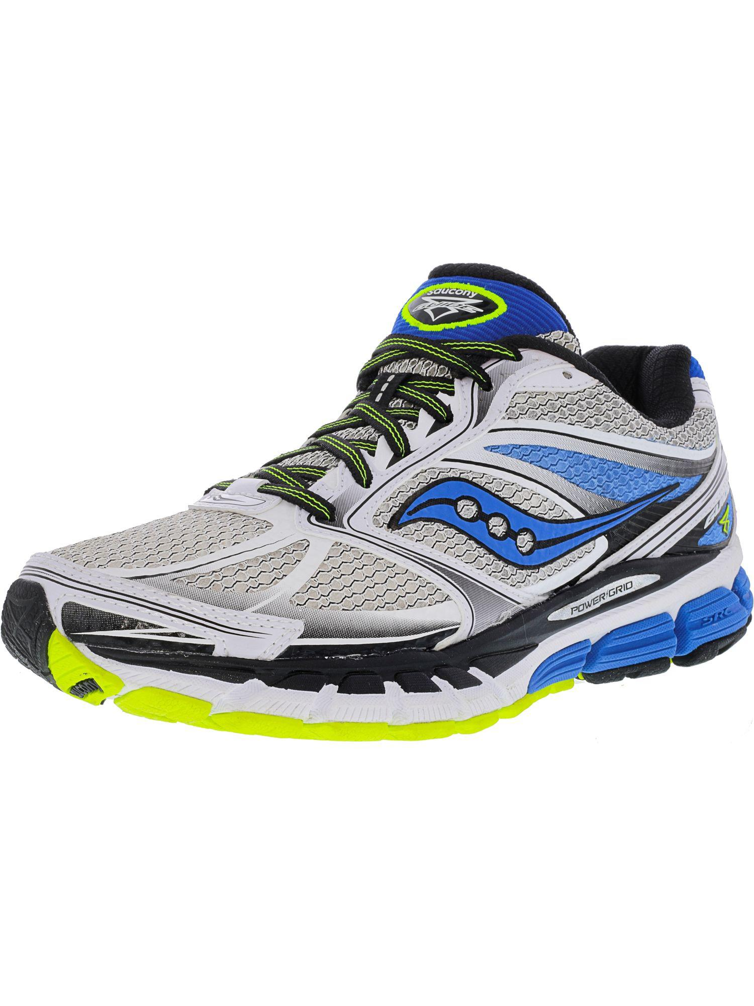 043ea6fc13ac Lyst - Saucony Men s Guide 8 Ankle-high Running Shoe in White for Men