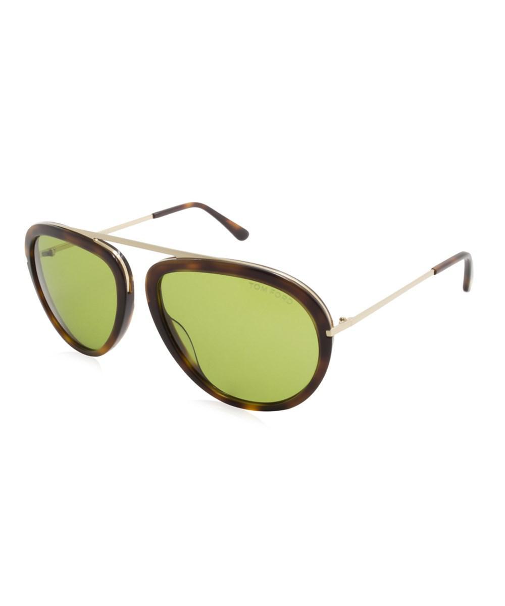 528e381dd8f9 Lyst - Tom Ford Stacy Men Sunglasses in Green for Men