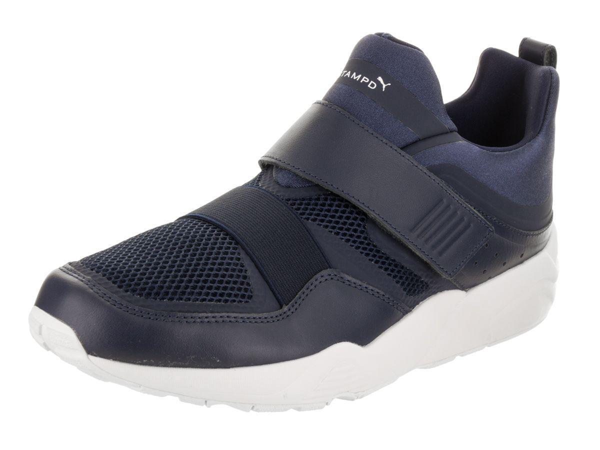 22b20ea439f Lyst - Puma Men s Blaze Of Glory Strap X Stampd Casual Shoe in Blue ...