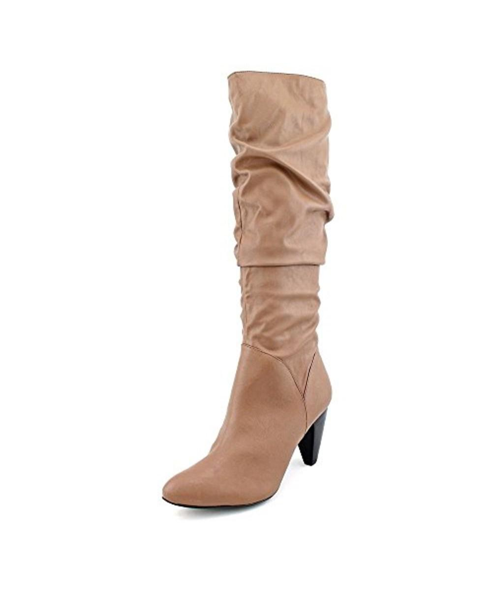 Womens Zadie Almond Toe Mid-Calf Fashion Boots