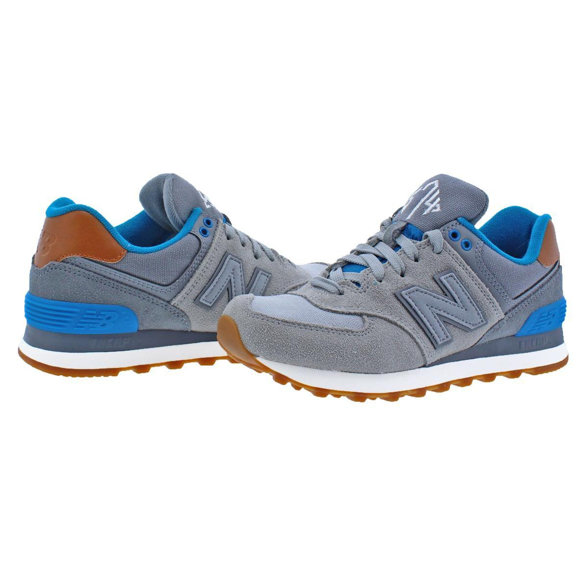 cde910e57aed New Balance - Blue Womens Classics 574 Low-top Casual Running Shoes - Lyst.  View fullscreen