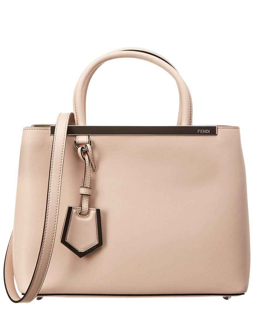 Fendi - Multicolor Petite 2jours Leather Tote - Lyst. View fullscreen a0f89cac34847