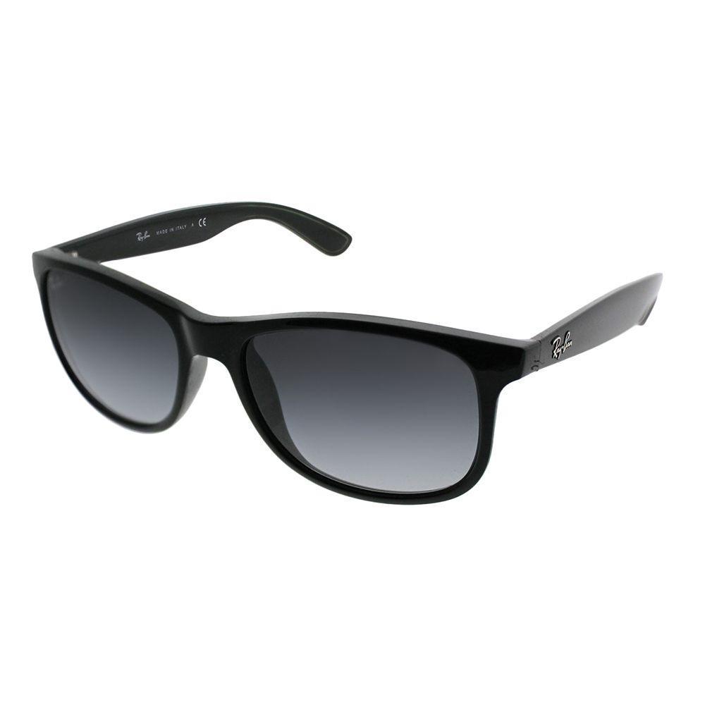 2f0f5f1d66 Lyst - Ray-Ban Andy Rb 4202 601 8g Black Wayfarer Sunglasses in Black