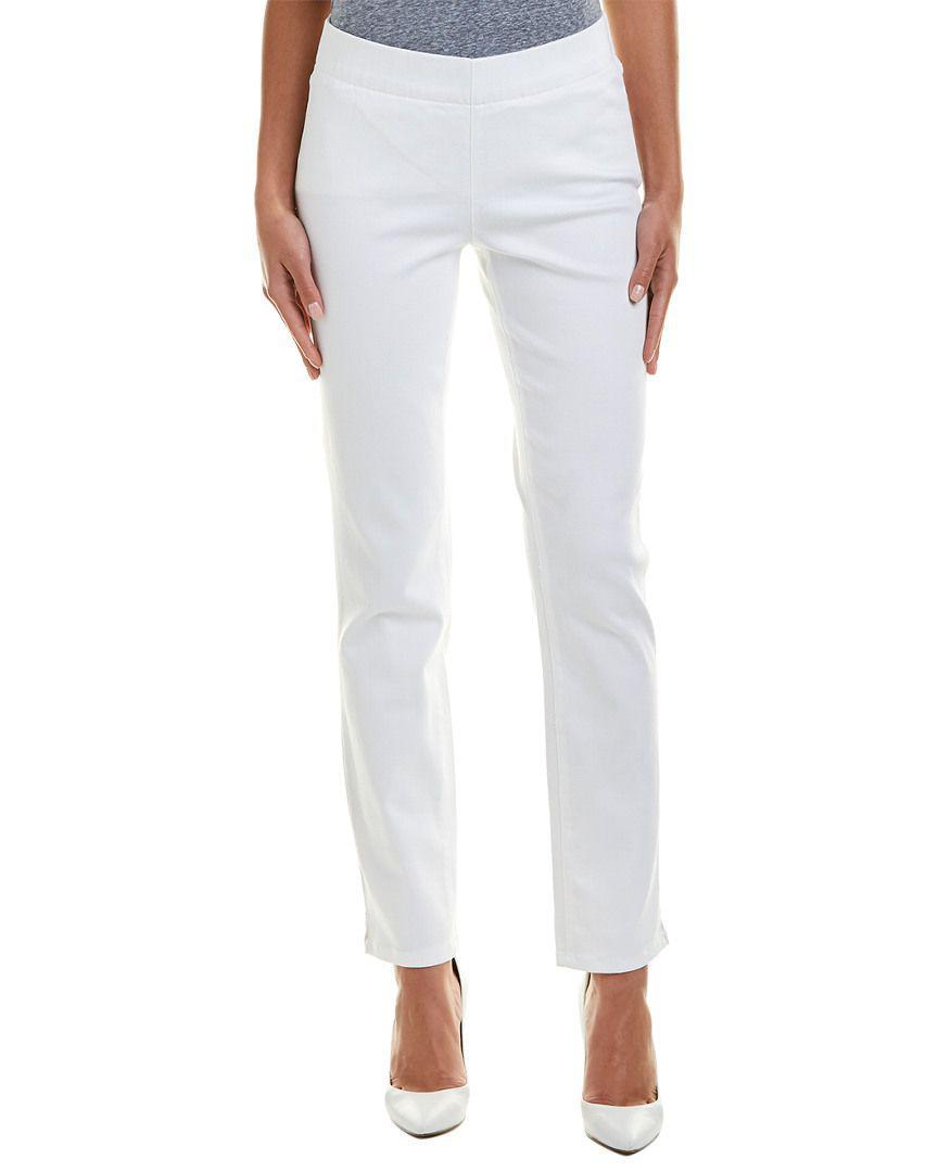 83e358c3e355f Lyst - Nydj Alina Endless White Pull-on Legging in White