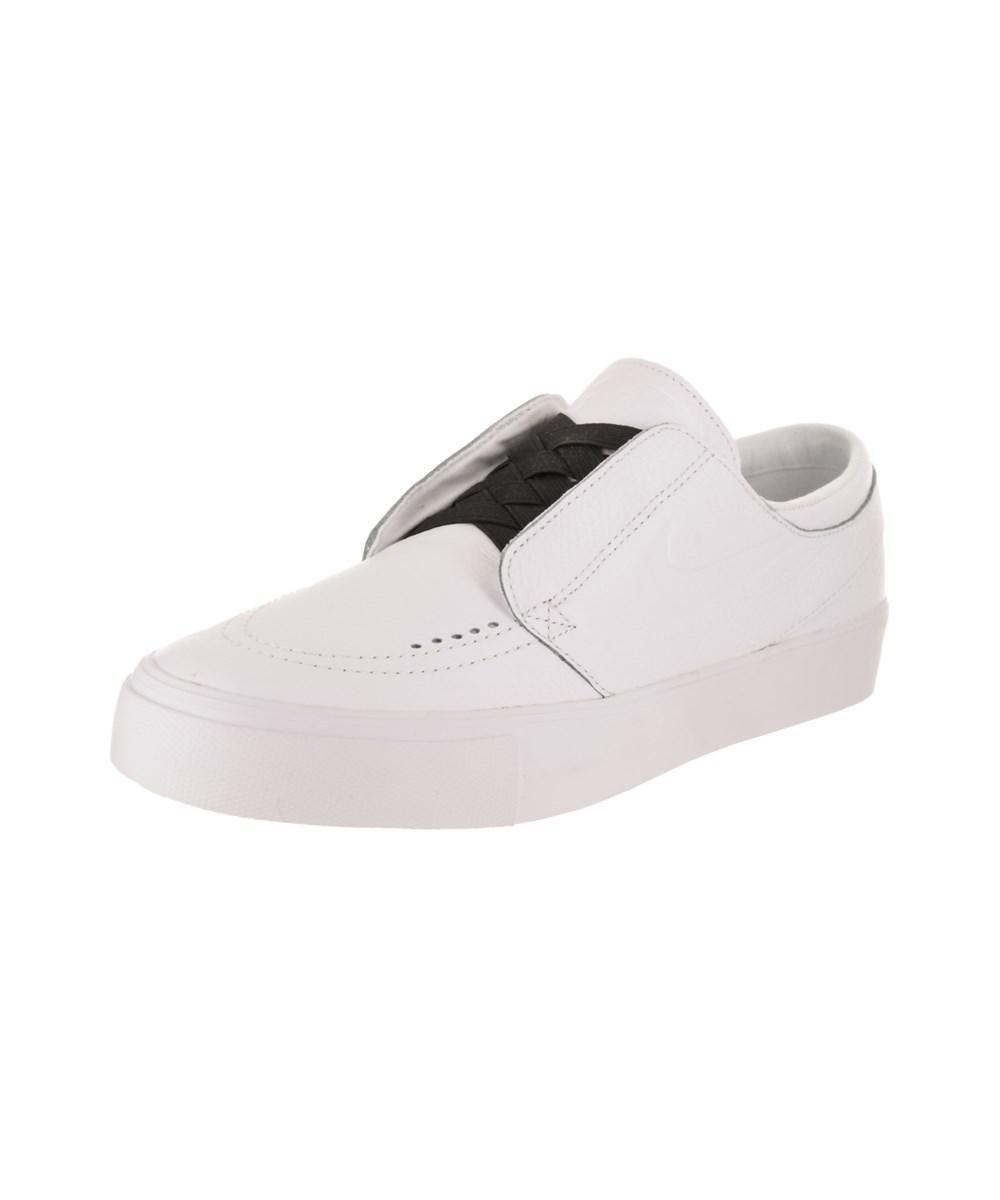 bcc0dfc5cf1d1 Lyst - Nike Men s Sb Zoom Janoski Ht Slip Skate Shoe in White for Men