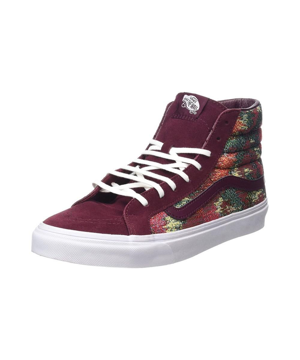 8d7d700436b2f Lyst - Vans Mens Sk8-hi Slim Hight Top Lace Up Fashion Sneaker in ...