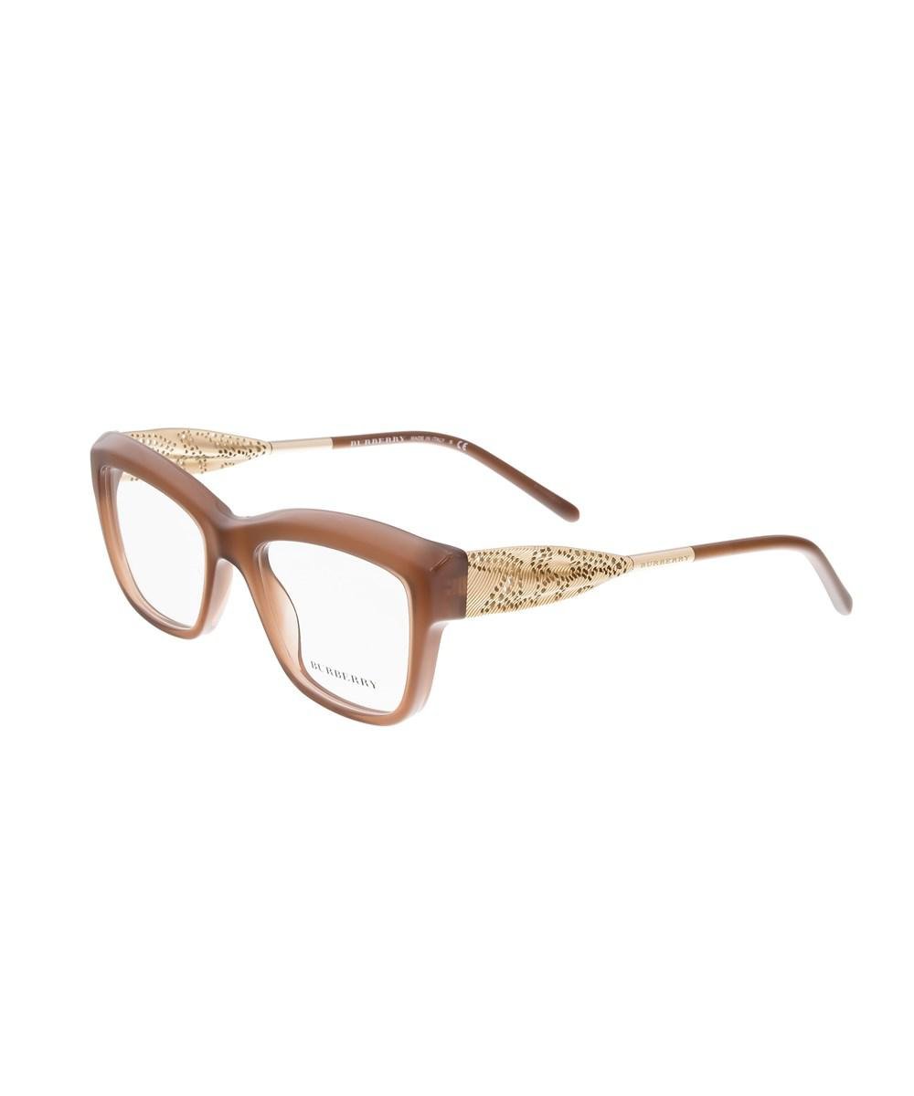705688a5f978 Lyst - Burberry Be2211 3173 Brown Square Sunglasses in Brown