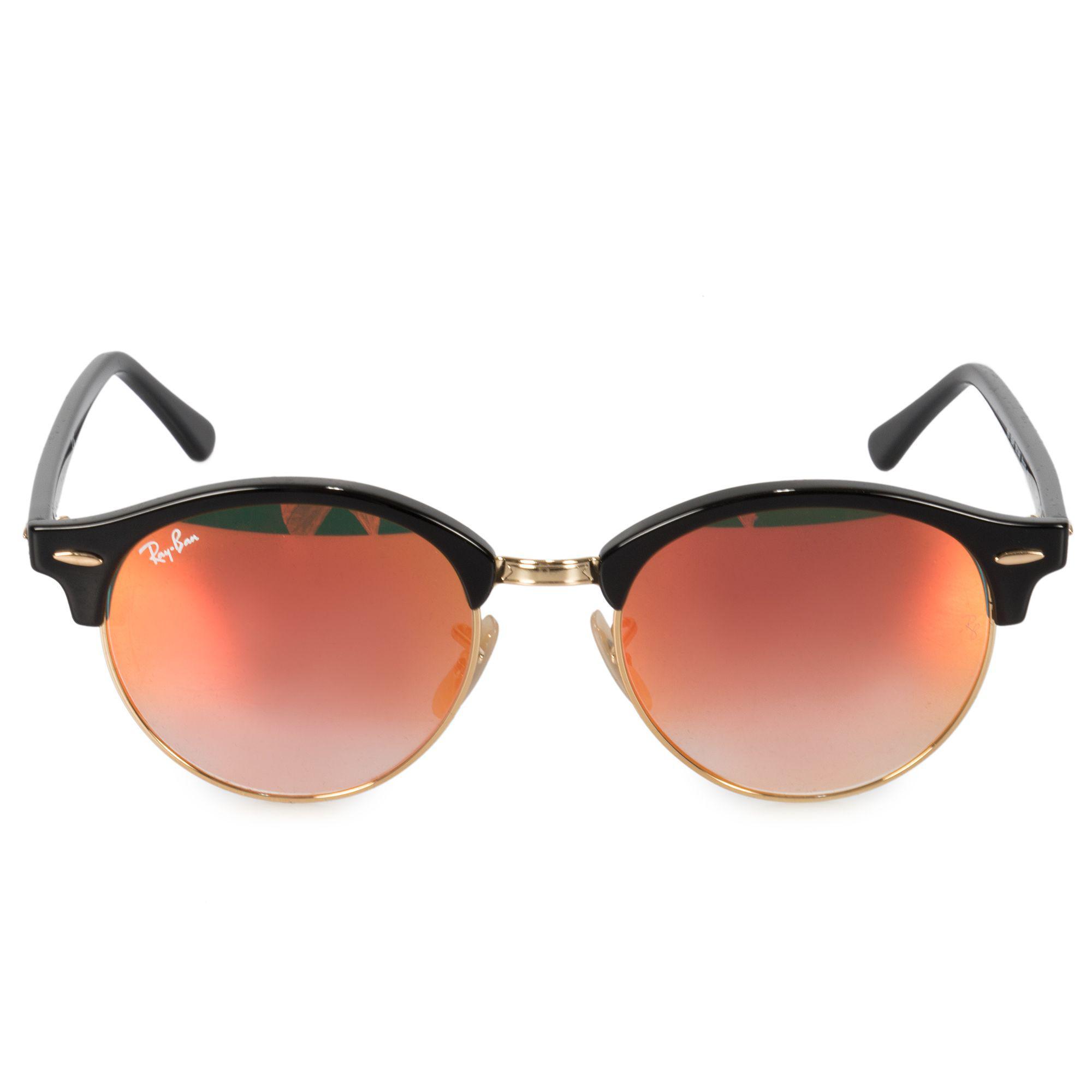 6ee2ecf83ba Ray-Ban. Women s Clubround Classic Sunglasses Rb4246 901 4w 51