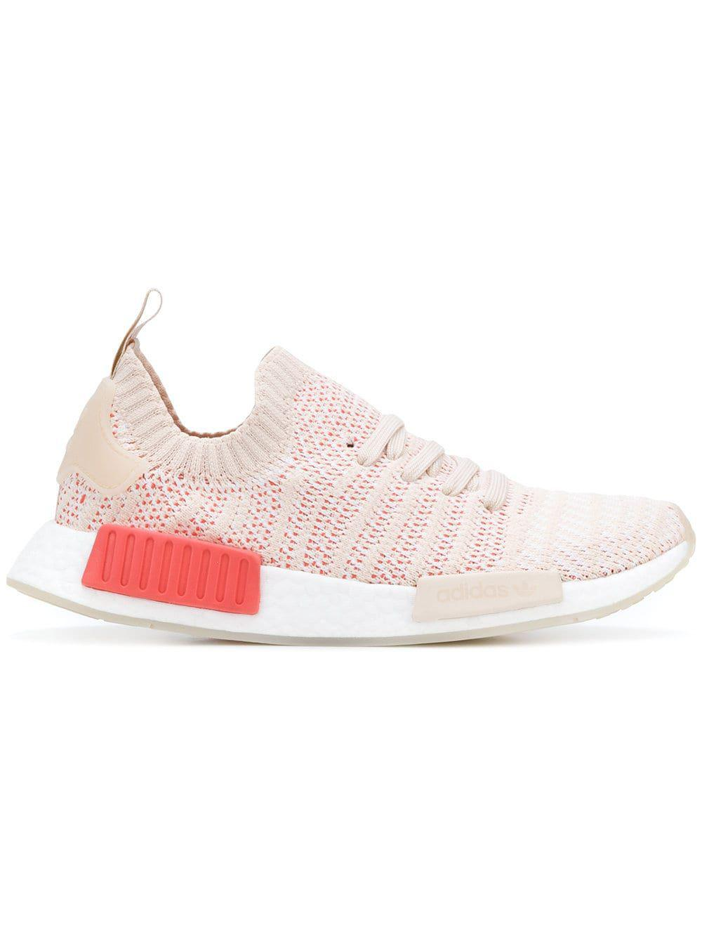 release date 549eb 85f32 Lyst - Adidas Womens Pink Pvc Sneakers in Pink