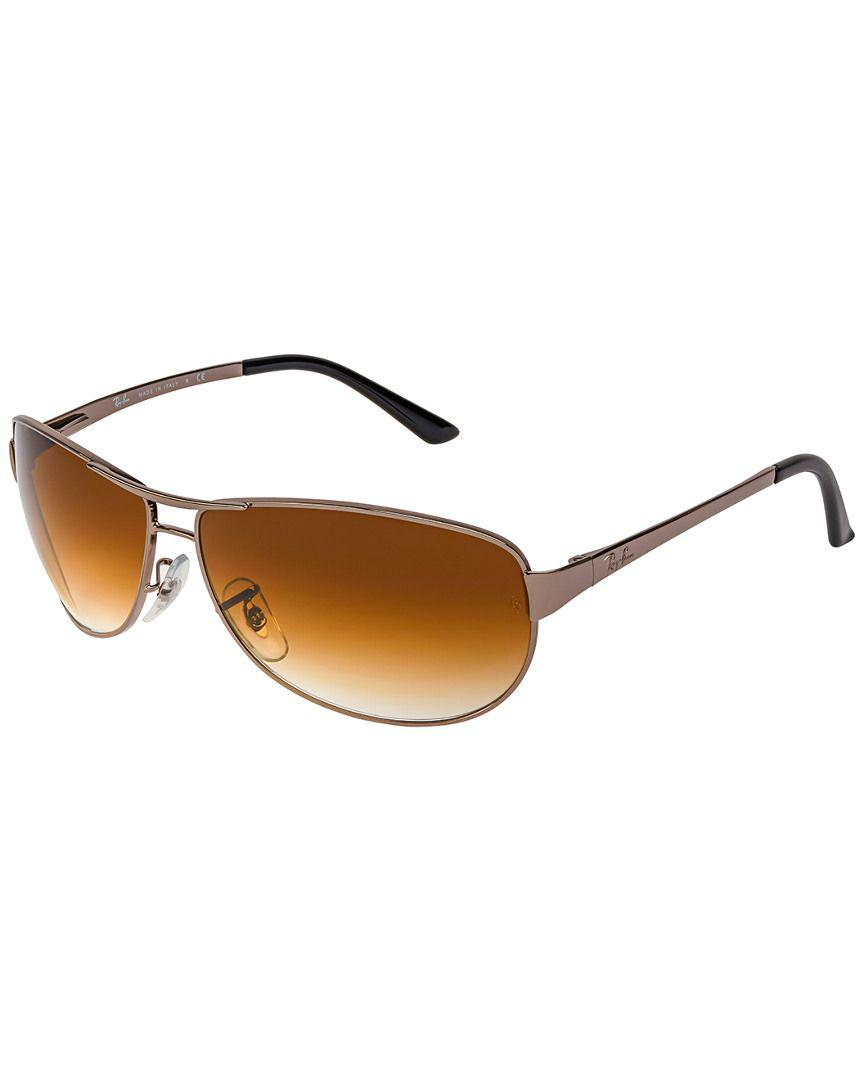 b06a979d0d Lyst - Ray-Ban Unisex Warrior 60mm Sunglasses in Gray