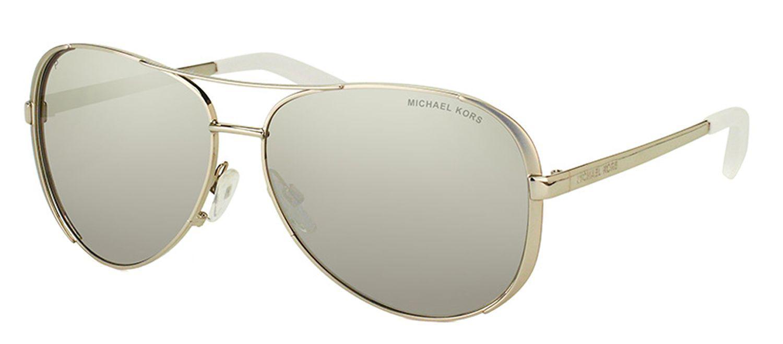 add2cc3d5502 Michael Kors. Women's Metallic Chelsea Mk 5004 1001z3 Silver Aviator  Sunglasses