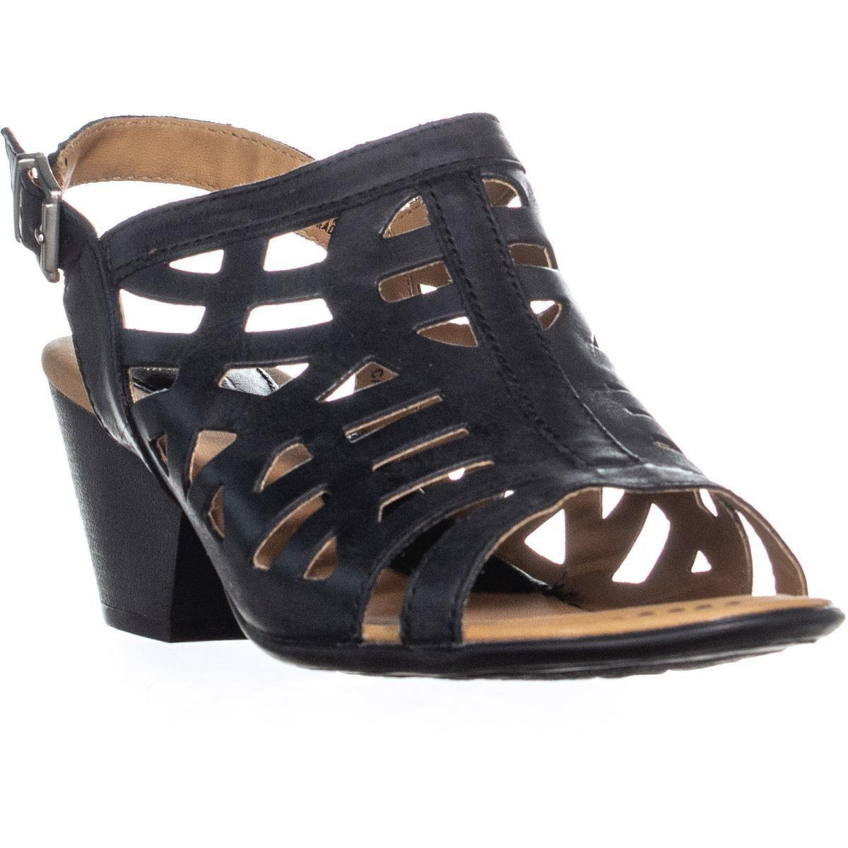 9f5128825c6c Born. Women s Dixie Perforated Buckle Heeled Sandals ...