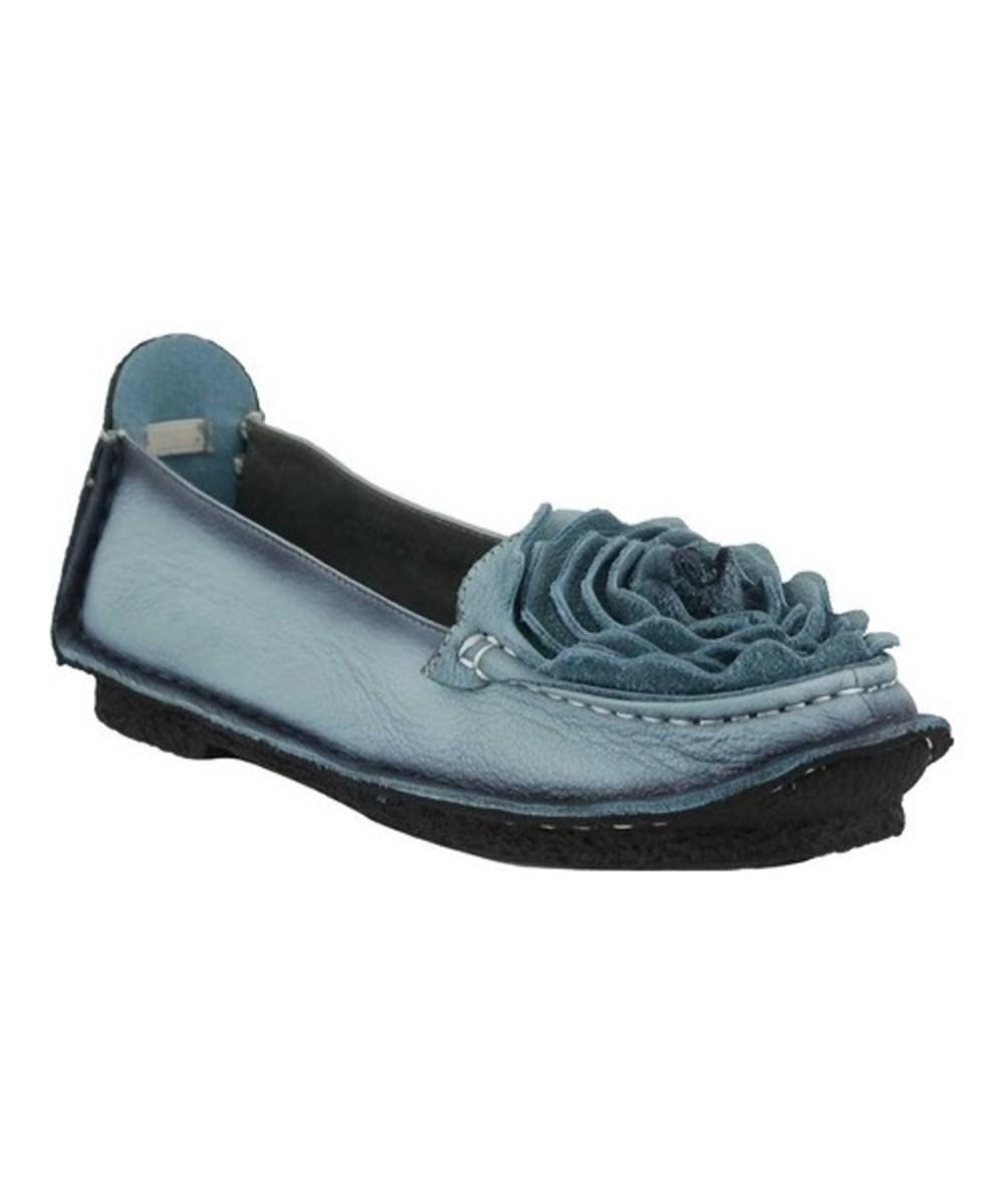 Spring Step. Blue Women's Dezi Slip-on