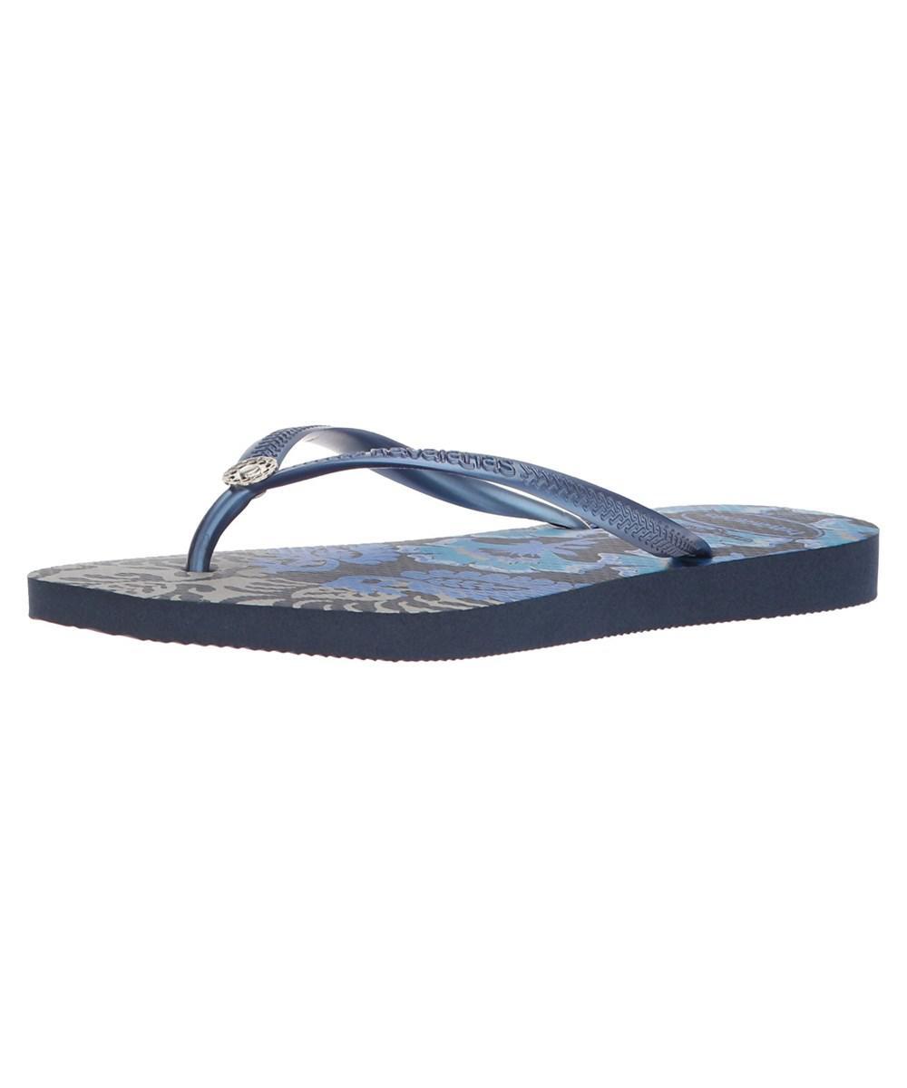 145a75911 Lyst - Havaianas Women s Slim Royal Sandal Navy Blue in Blue