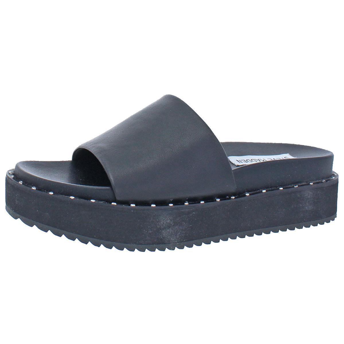 cbe9d1ecc2d Lyst - Steve Madden Womens Jen Open Toe Casual Platform Sandals in Black