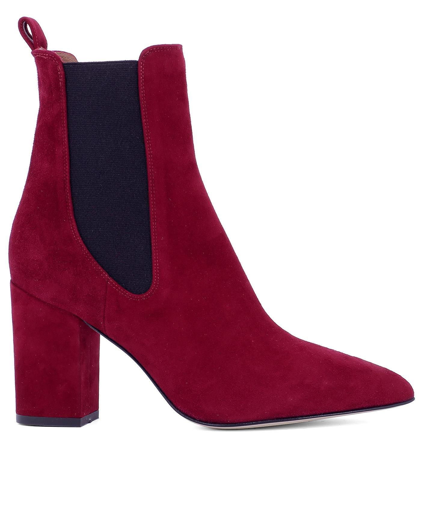 Texas Texas Red Suede Red in Paris Boots Ankle Lyst Women's Women's Women's 7qpSBwR
