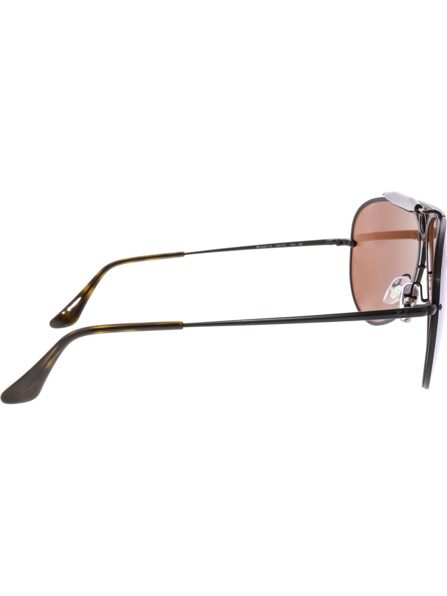 6925f25cde Lyst - Ray-Ban Men s Polarized Blaze Shooter Rb3581n-153 7v-32 Black Aviator  Sunglasses in Black for Men