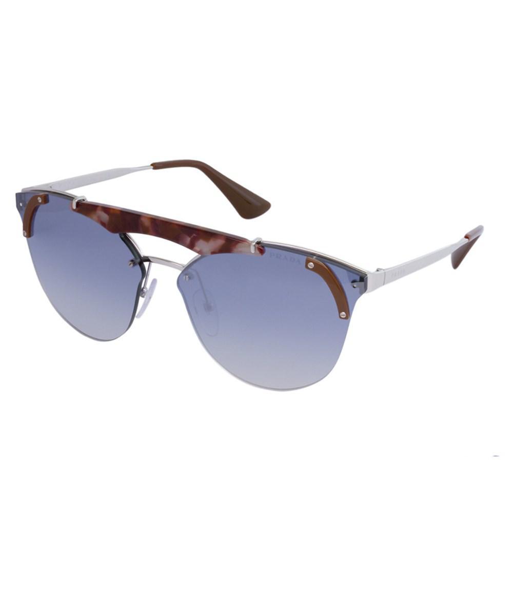 e3b99e3f10386 Lyst - Prada Women s Pr 53us 140mm Sunglasses in Blue