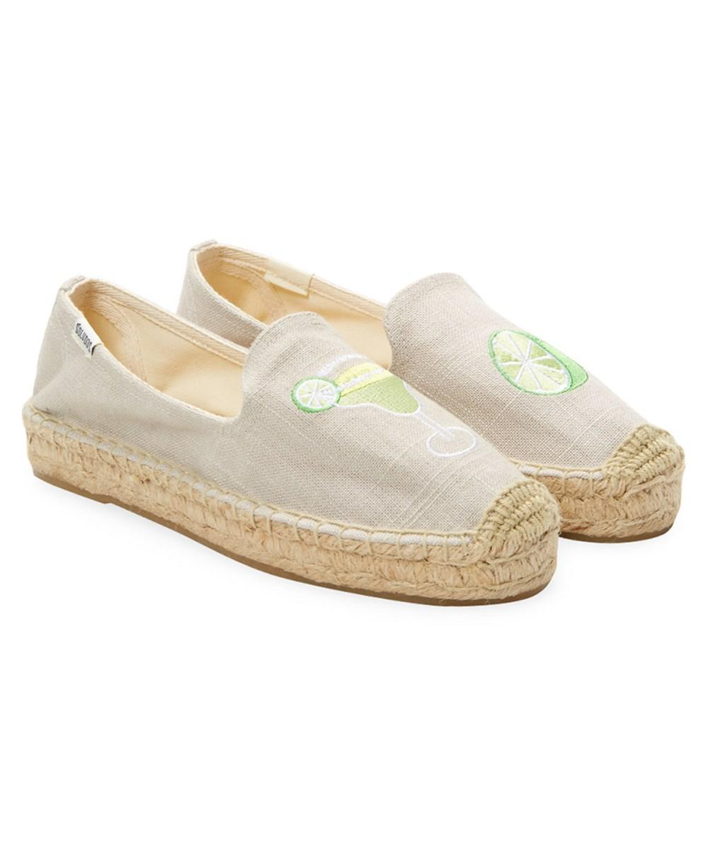 112e4faf22e8d7 Lyst - Soludos Margarita Embroidery Slippers