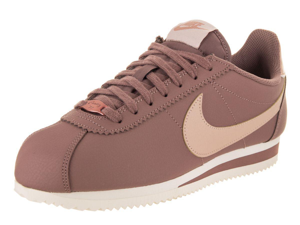 best service 21921 74019 Lyst - Nike Women's Classic Cortez Leather Casual Shoe in ...