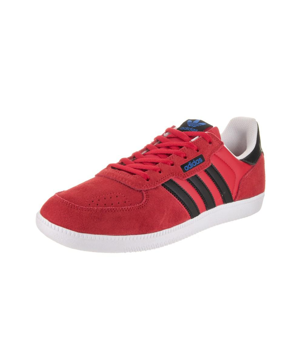 lyst adidas uomini leonero pattinare scarpa in rosso per gli uomini.