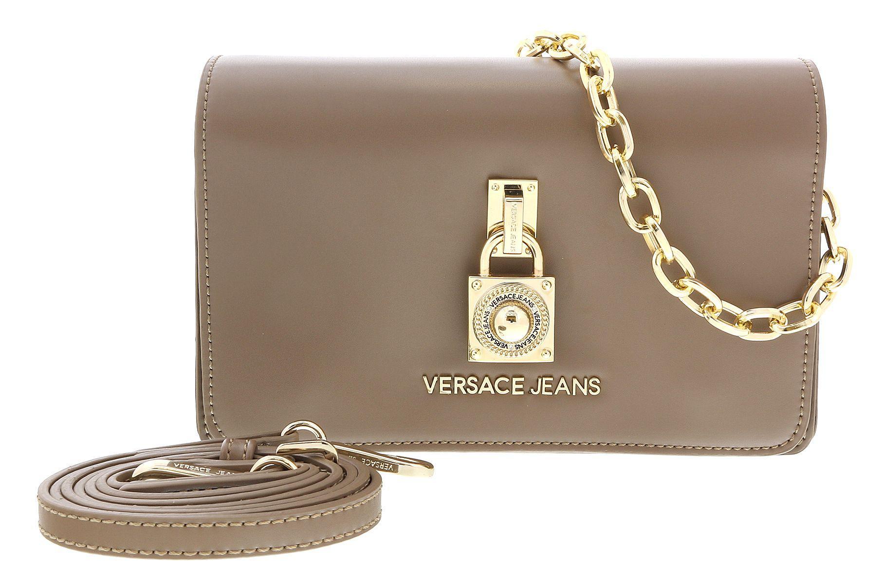 9bfdcbd1f3b1 Lyst - Versace Ee1vsbbg1 Emdu Taupe Shoulder Bag