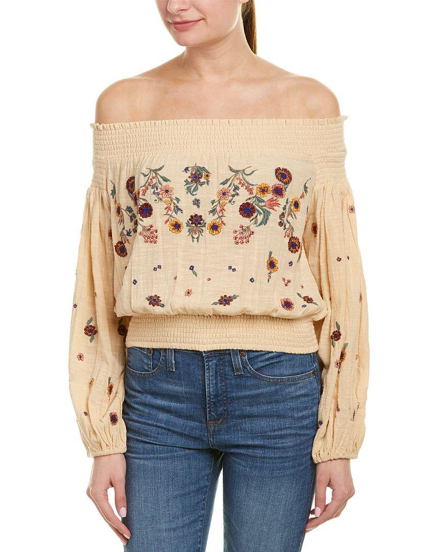 dded462e66a09 Free People. Women s Saachi Smocked Top