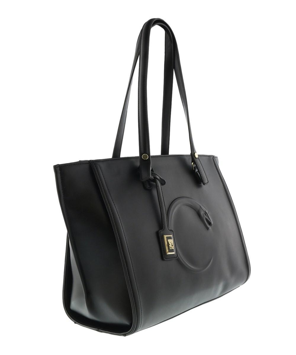 Lyst - Roberto Cavalli Hxlpan 999 Black Shopping Bag in Black - Save ... 682f6c61755f2