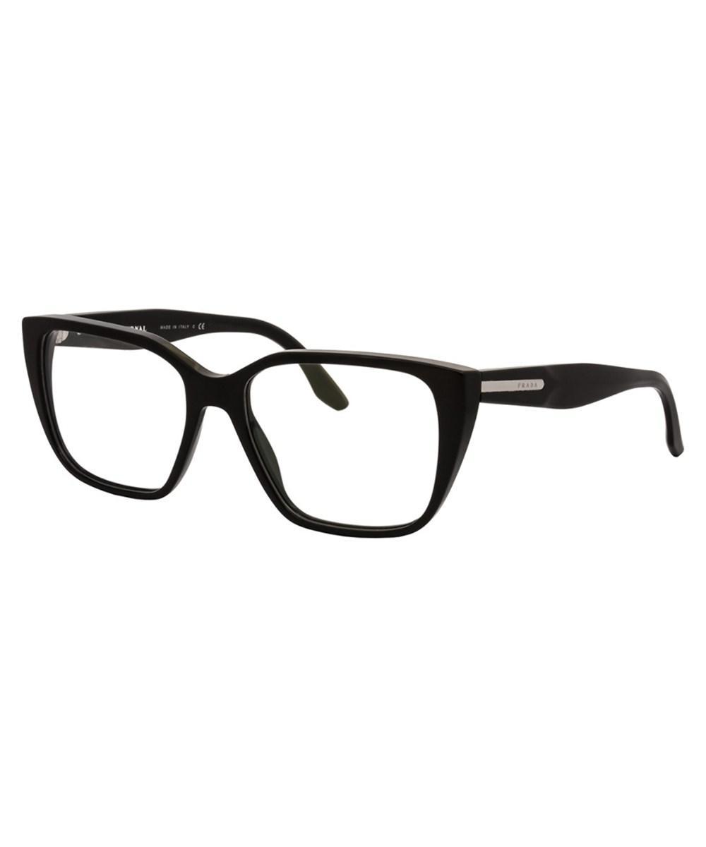 348029c9ff7 Lyst - Prada Women s Pr 08tv 53mm Optical Frames in Black