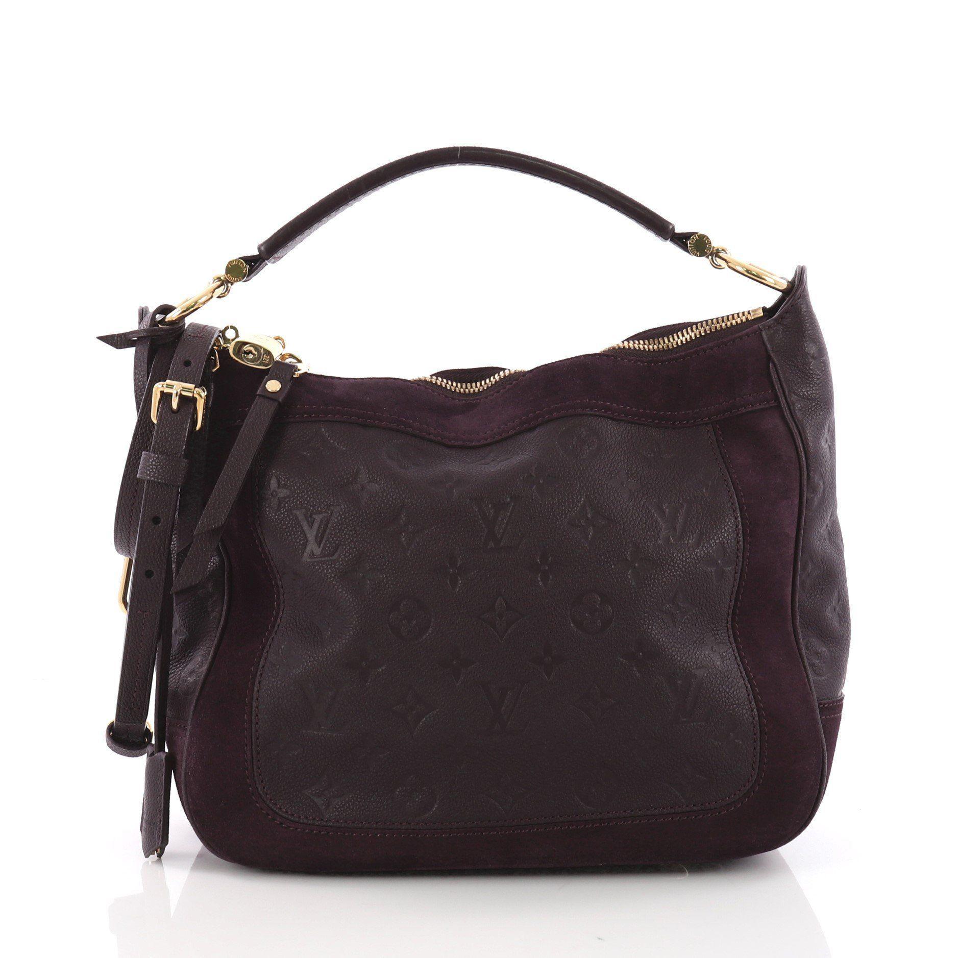 19fd5fa0b88b Louis Vuitton. Women s Pre Owned Audacieuse Handbag Monogram Empreinte  Leather Pm
