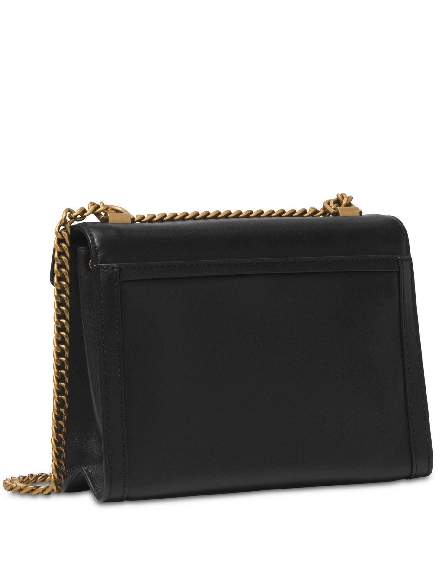 1ebc86ca2be6 Lyst - Michael Kors Studded Whitney Shoulder Bag in Black