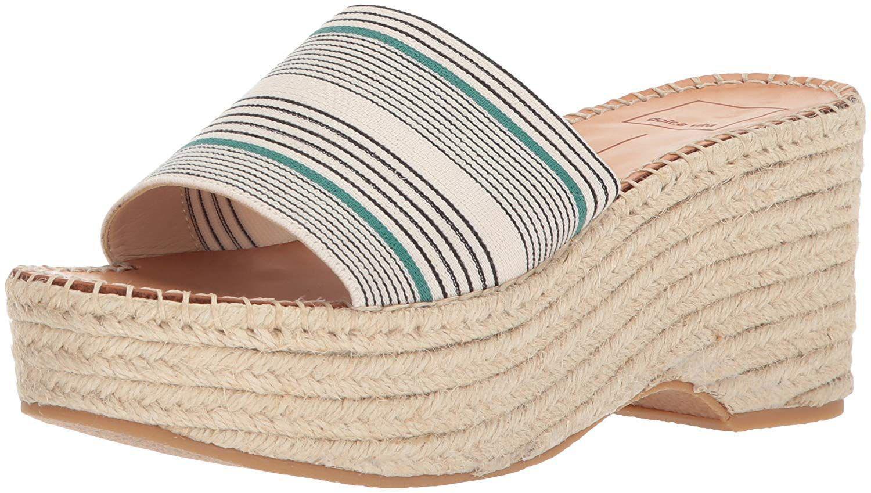 9da6bdafd8dc Lyst - Dolce Vita Women s Lada Espadrille Wedge Sandal in Natural