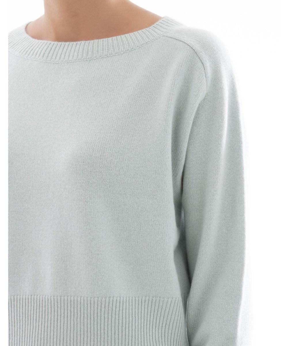 Lyst Theory Womens Light Blue Cashmere Sweater In Blue