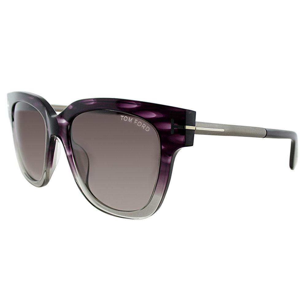 06a6389bf7f Tom Ford - Multicolor Tracy Tf 436f 83t Violet Melange Square Sunglasses -  Lyst. View fullscreen