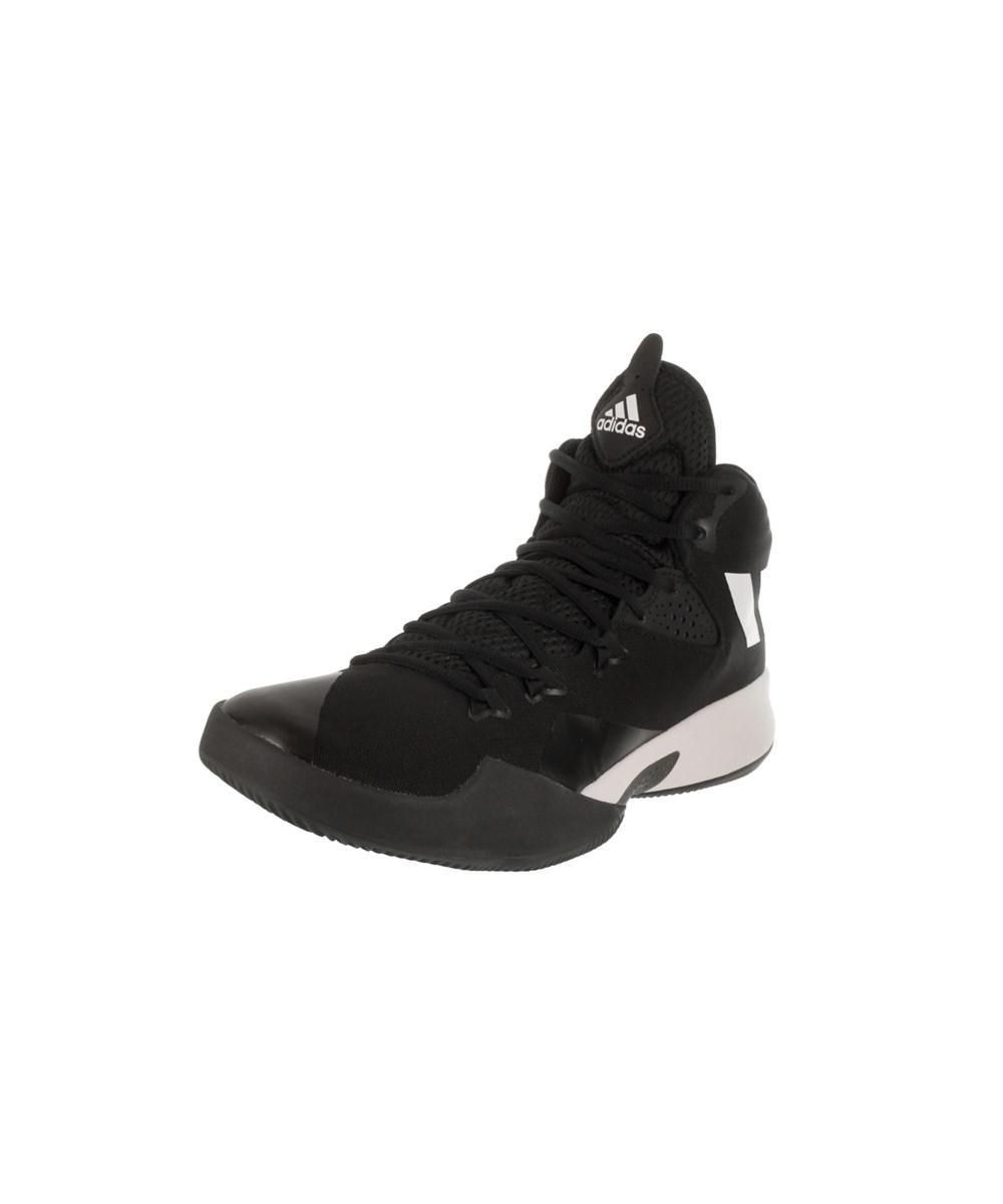69fbcaac8727 Adidas - Black Men s Dual Threat 2017 Basketball Shoe for Men - Lyst. View  fullscreen