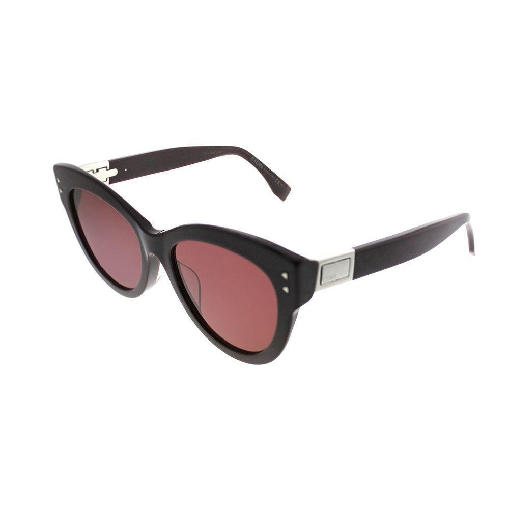 c712ceaa2f Lyst - Fendi Peekaboo Ff 0282 f 0t7 Plum Cat-eye Sunglasses