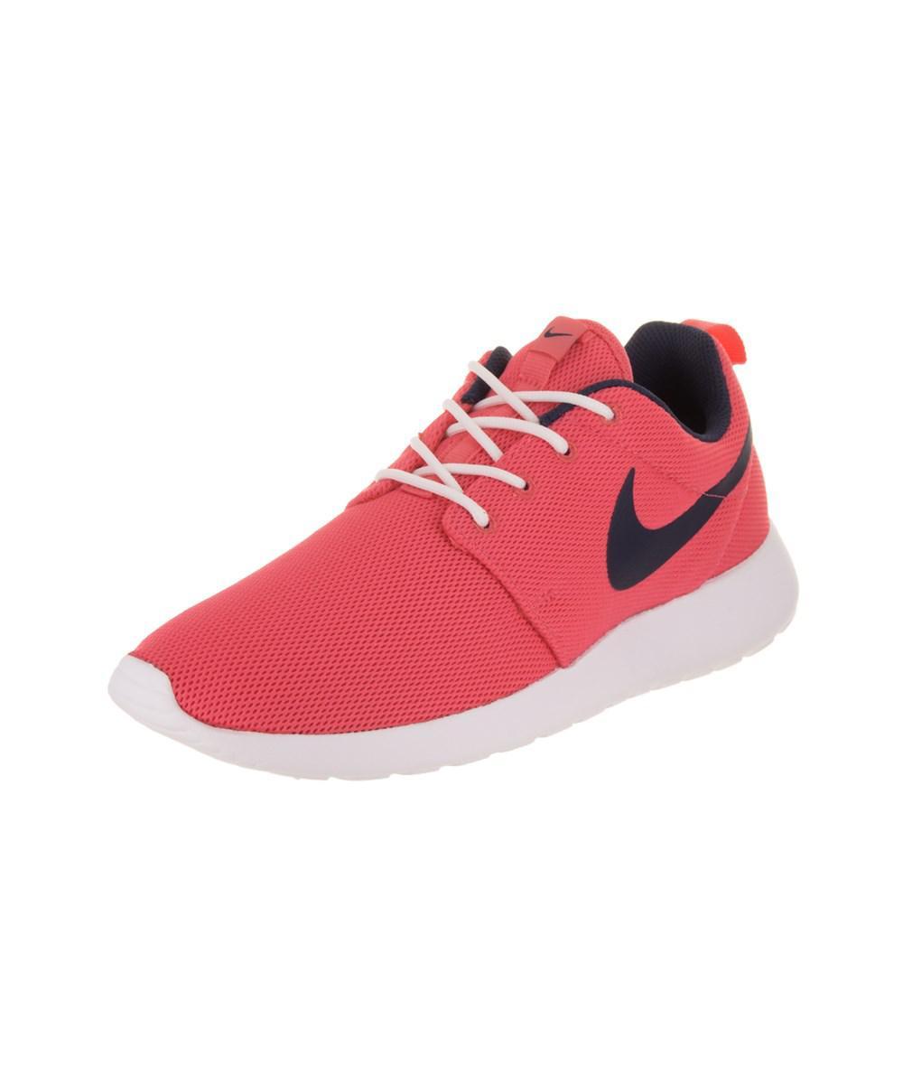 best service 9387f 74f68 Lyst - Nike Women's Roshe One Running Shoe in Pink