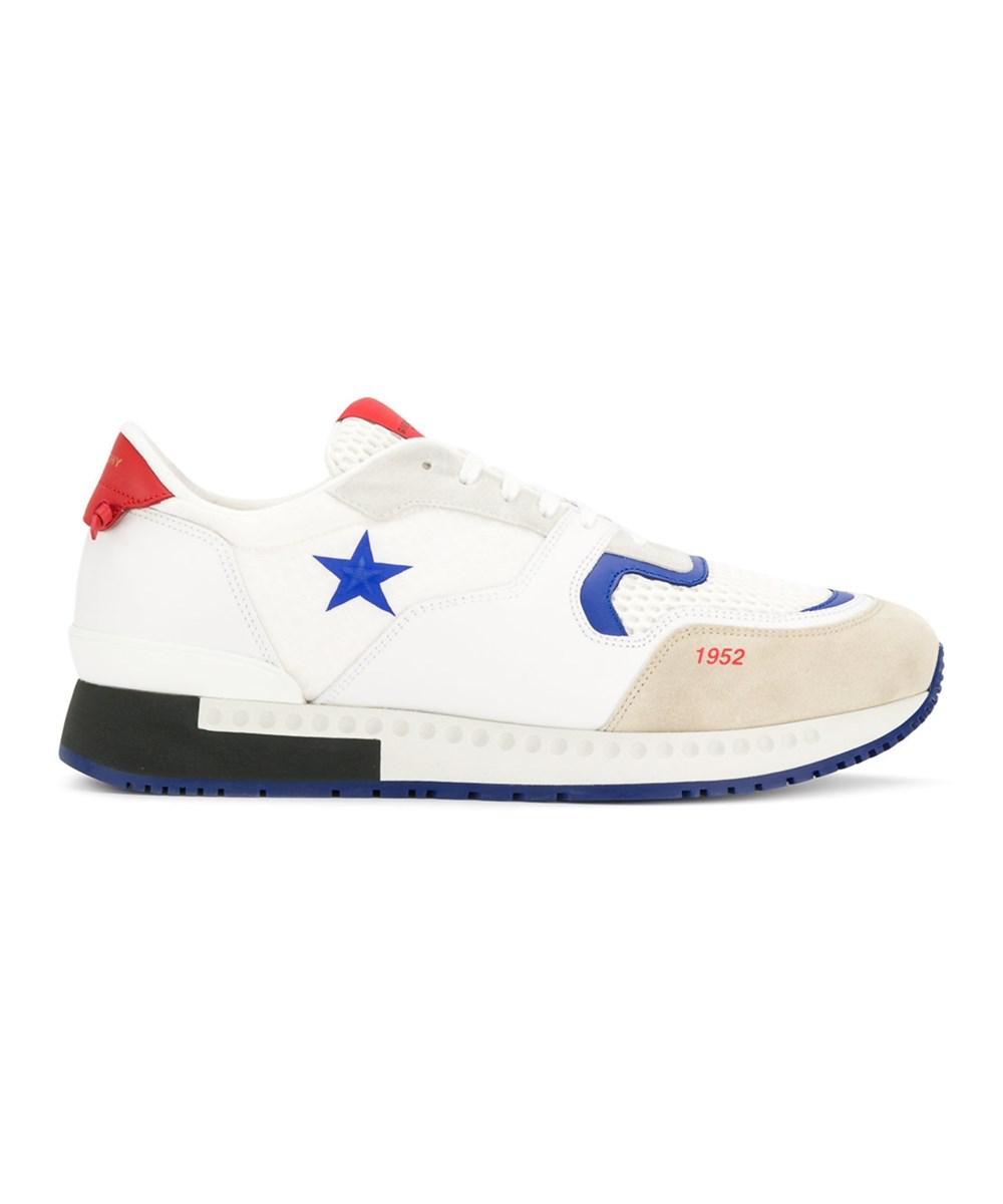 21e27b5cd3b Lyst - Givenchy Men s White Leather Sneakers in White for Men