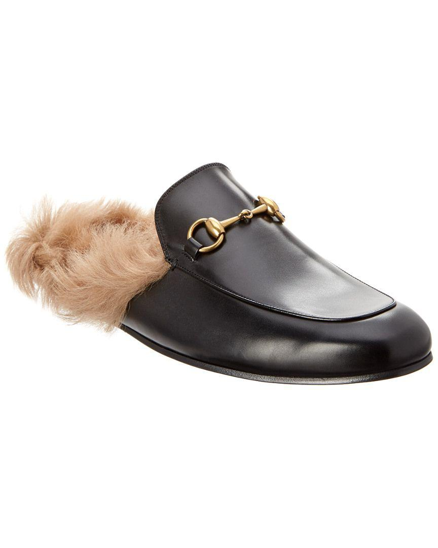 6048472d11c Gucci Princetown Leather Slipper for Men - Lyst