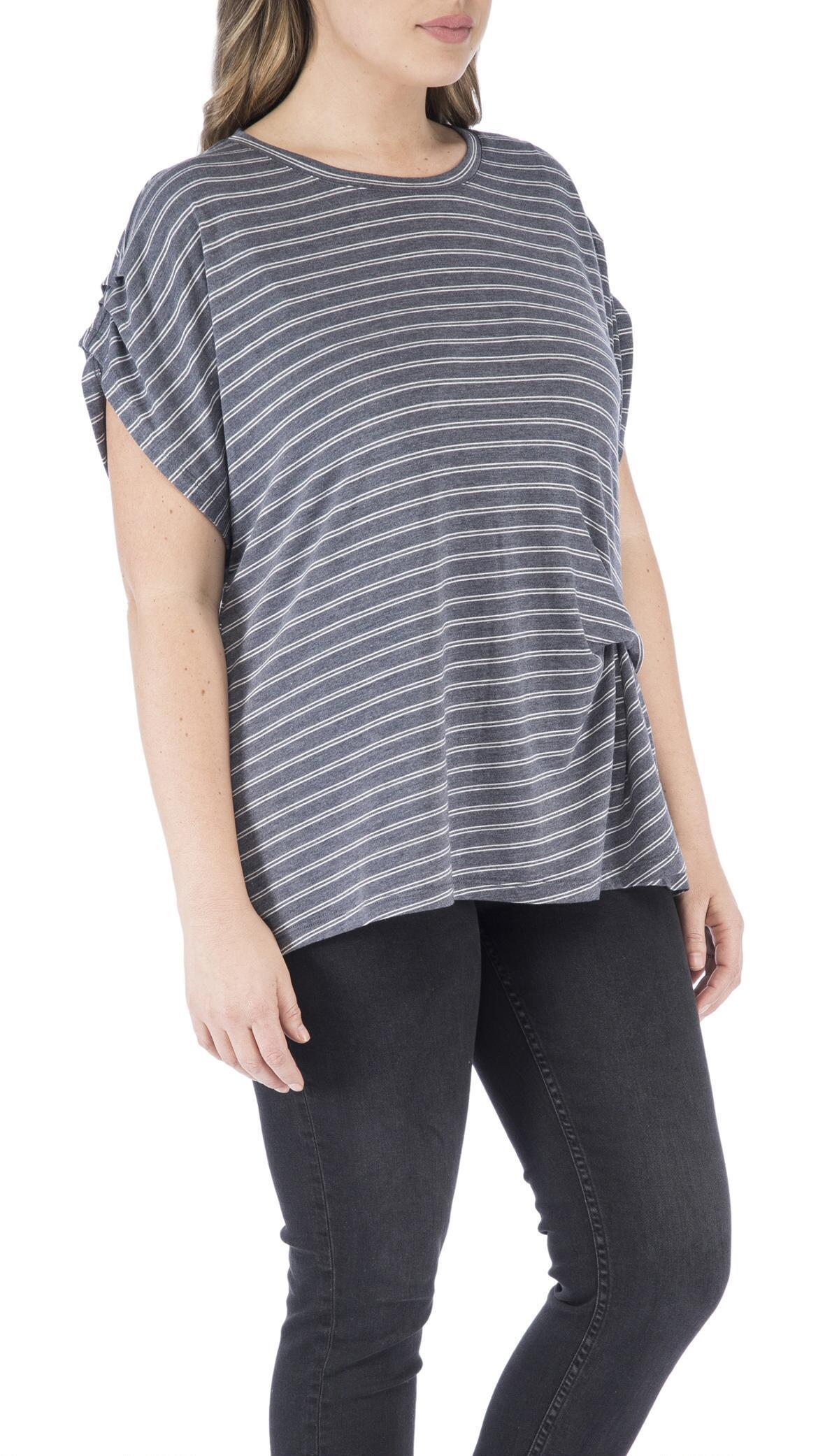aa16dbb2154e56 Bobeau - Multicolor Iva Plus Pleated Sleeve Side Fold Top - Lyst. View  fullscreen