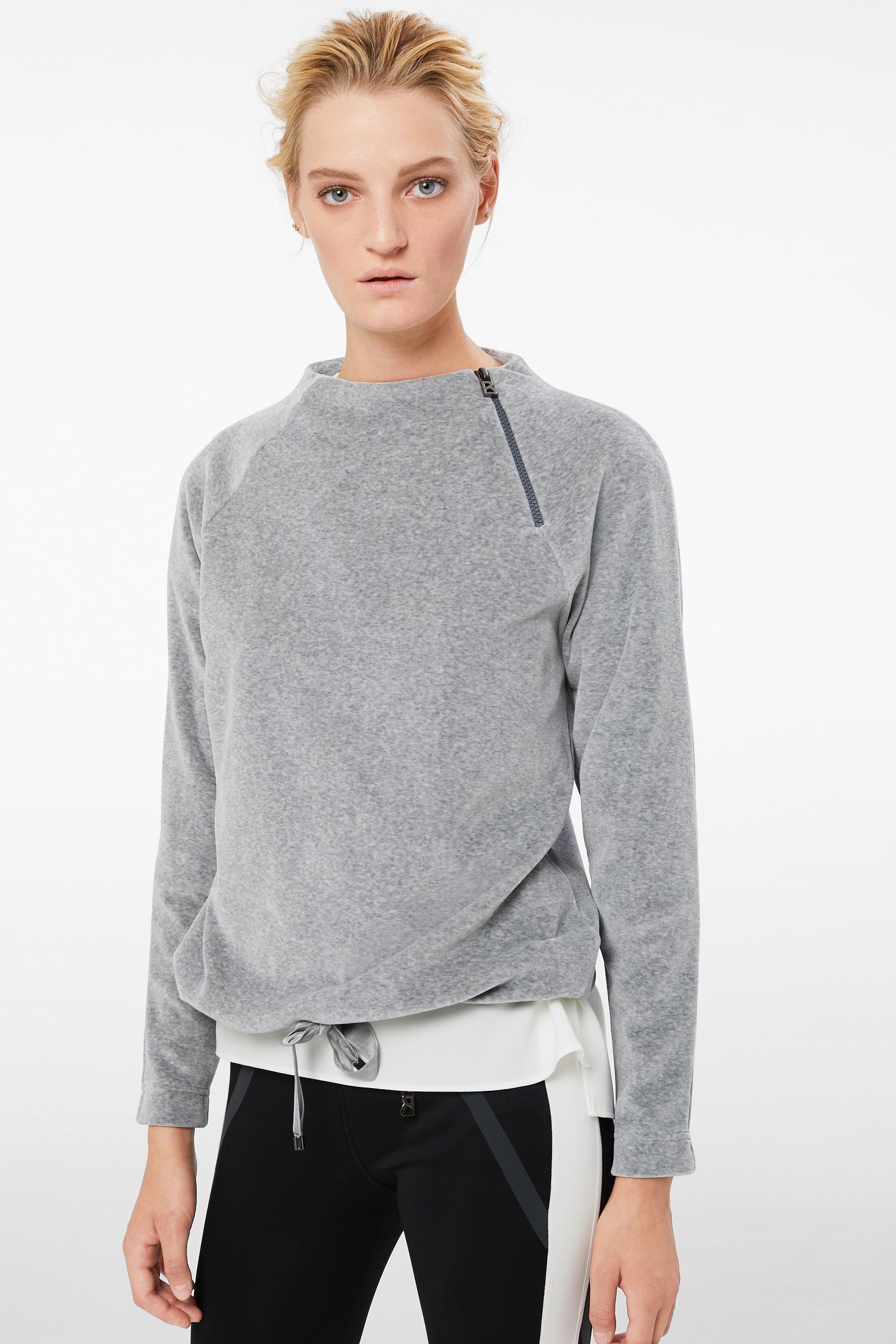 6a586c78a700c Bogner Smina Sweatshirt In Light Gray Mottled in Gray - Lyst