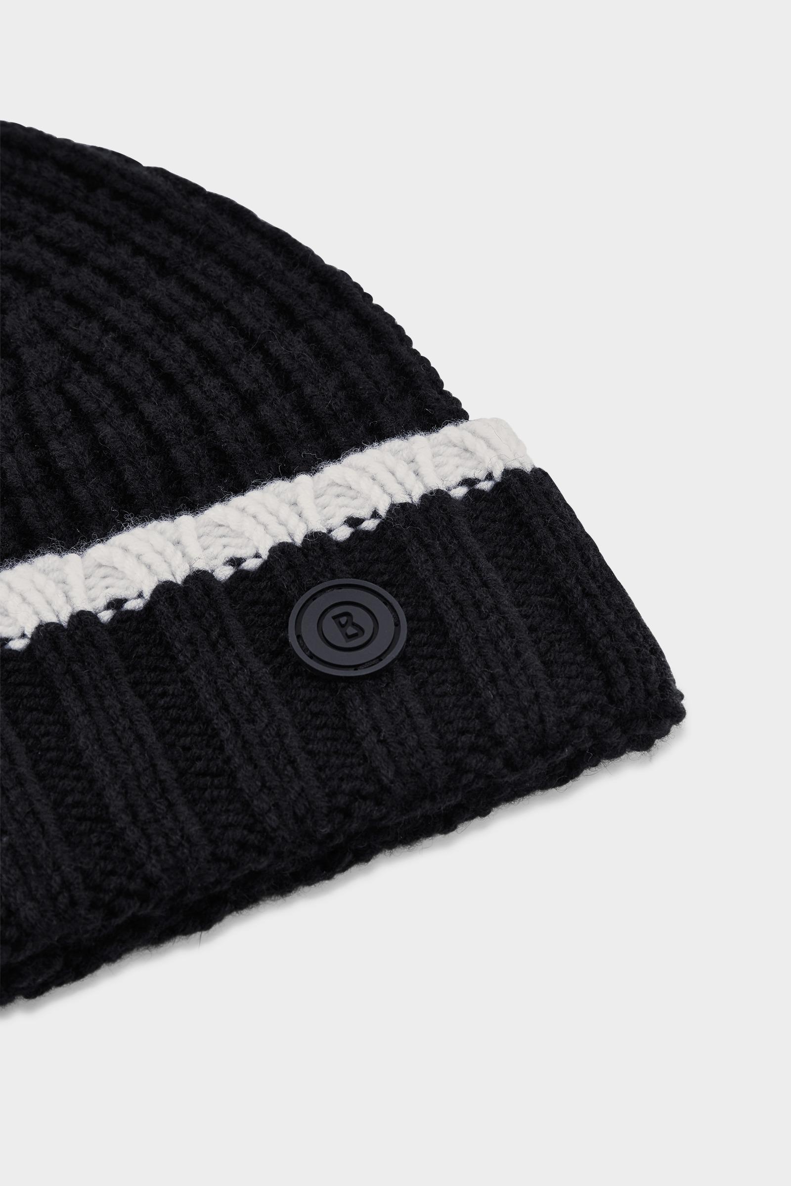 ffac58d7f57 Bogner Albi Knitted Hat In Black in Black for Men - Lyst