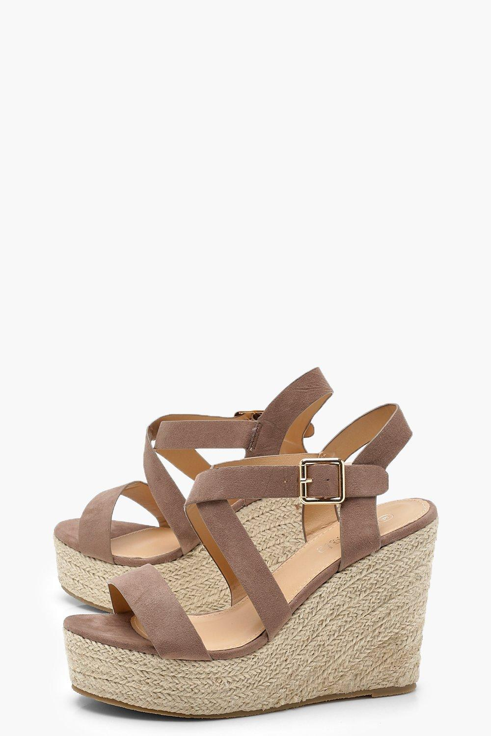 Zoe Strappy Espadrille Wedges vgn4szAjag