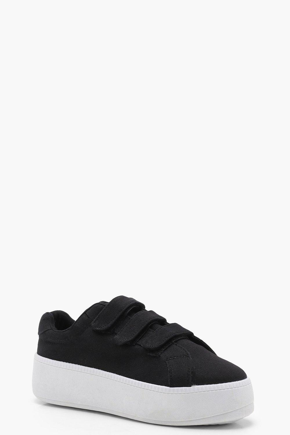 Lilly Velcro Platform Trainers bT8ZNM8